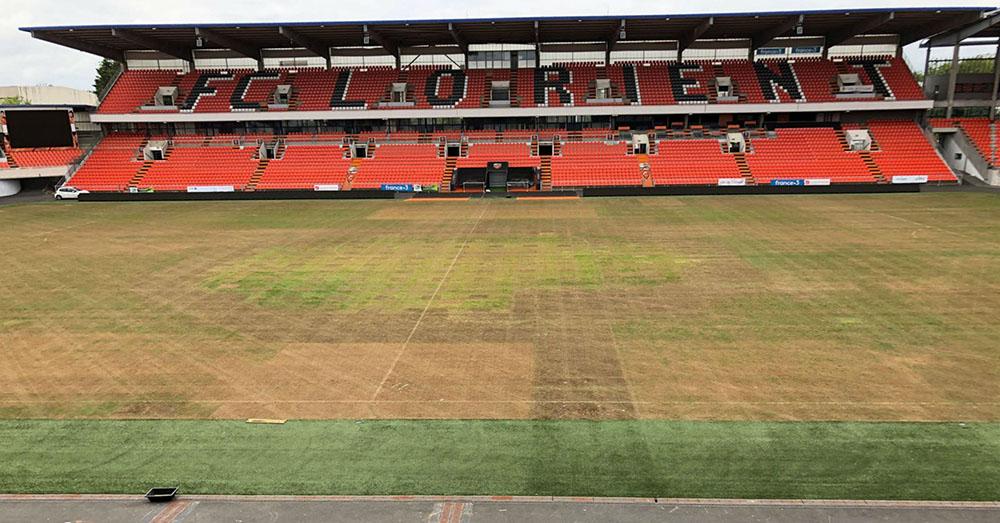 Stade de Lorient au 11 août 2018