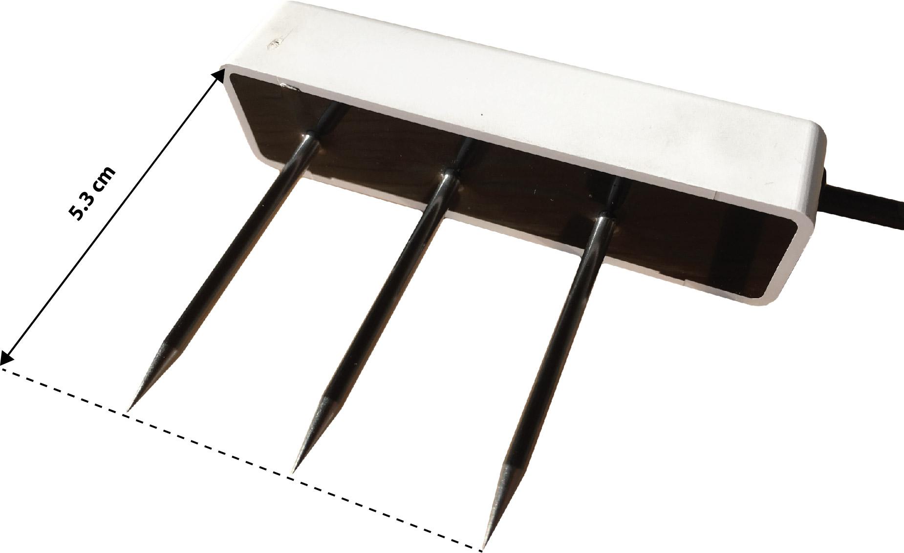 Sondes Teros 11/12 fabriquées par la société Meter Group et longueur des broches